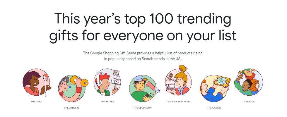 100 Geschenke im Trend: Googles neuer Shopping Gift Guide