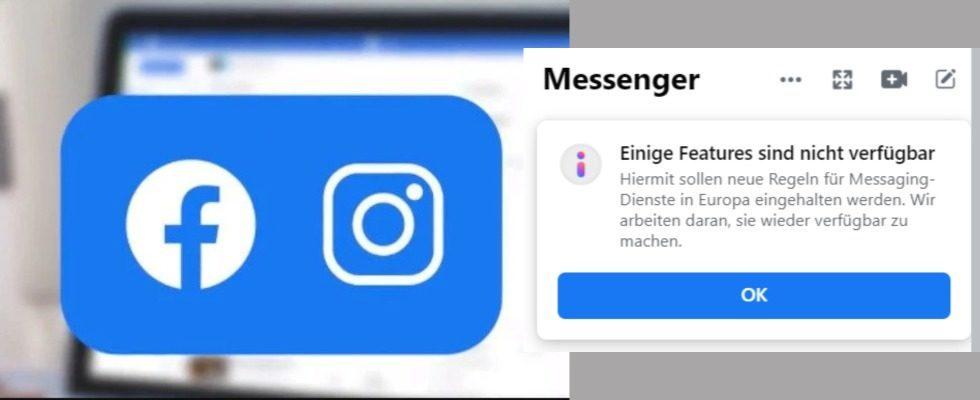 Facebook Messenger: Fehlende Features aufgrund neuer Richtlinien