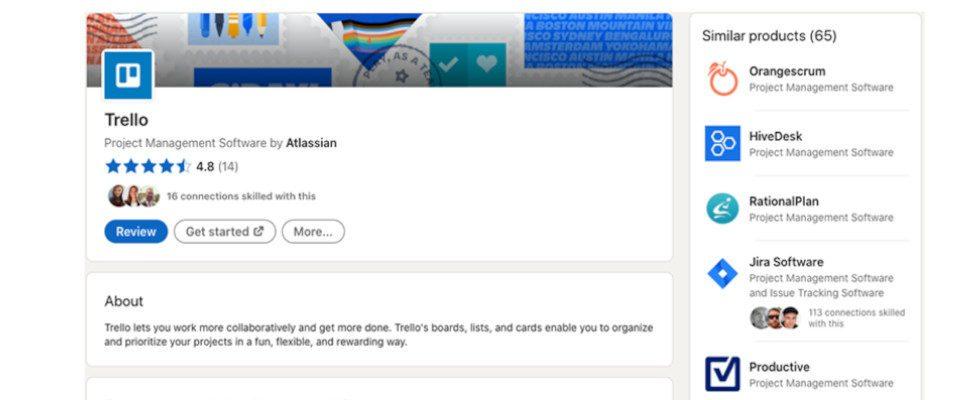 Social Commerce bei LinkedIn? Die Business-Plattform launcht einen Products Tab