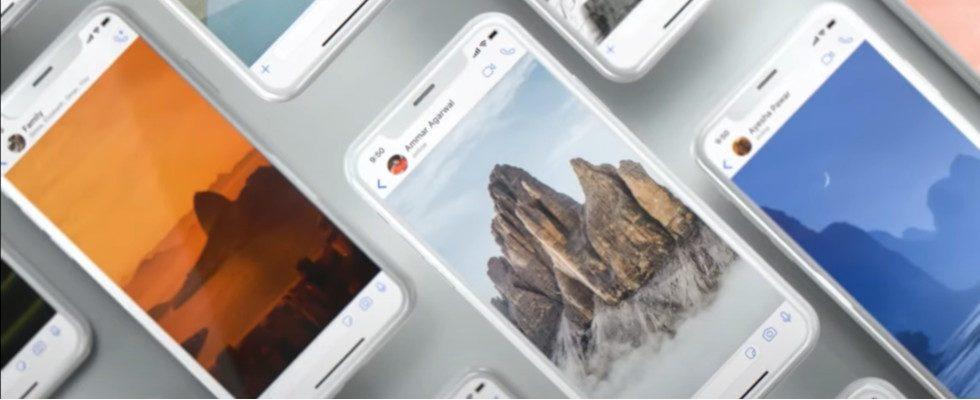 WhatsApp führt Personalisierung von Chats mit neuen Wallpapern ein