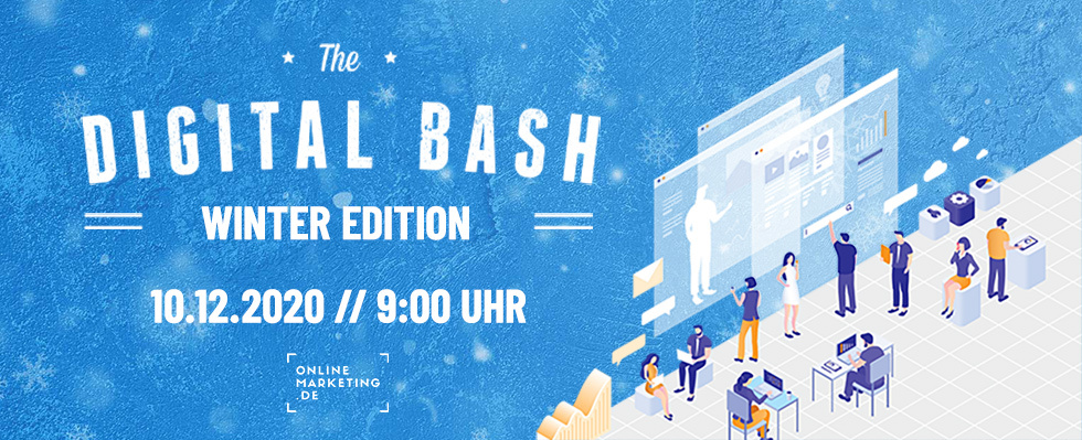 Mit exklusiven Marketing Insights ins neue Jahr: The Digital Bash – Winter Edition