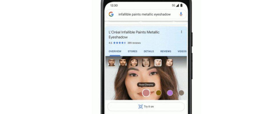 AR Tools und Produktempfehlungen: Google updatet den Shopping-Bereich