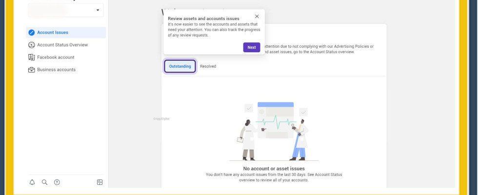 Bessere Übersicht bei kritischen Posts: Facebook optimiert das Account Quality Dashboard