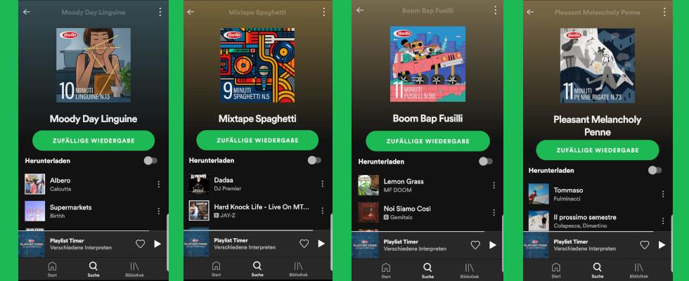 Barilla auf Spotify: Mit diesen Playlists kochst du die perfekten Nudeln