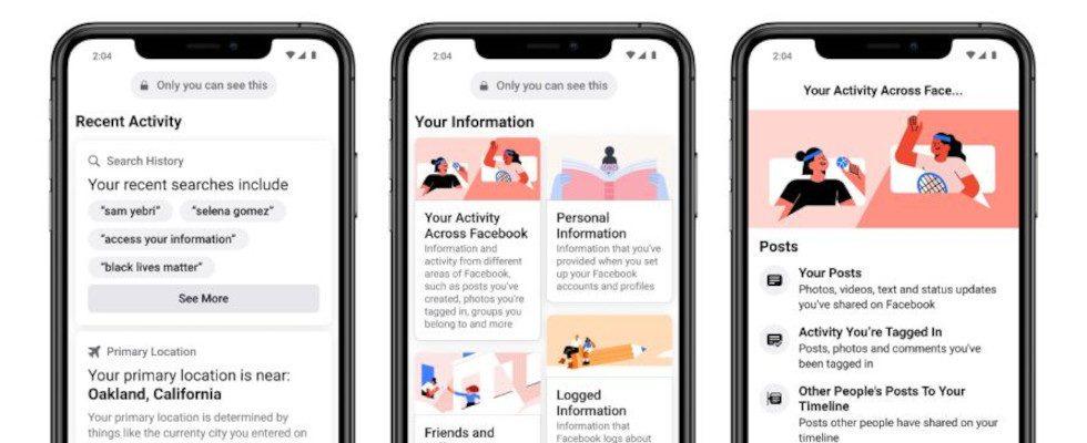 Facebook Update sorgt für mehr Datentransparenz