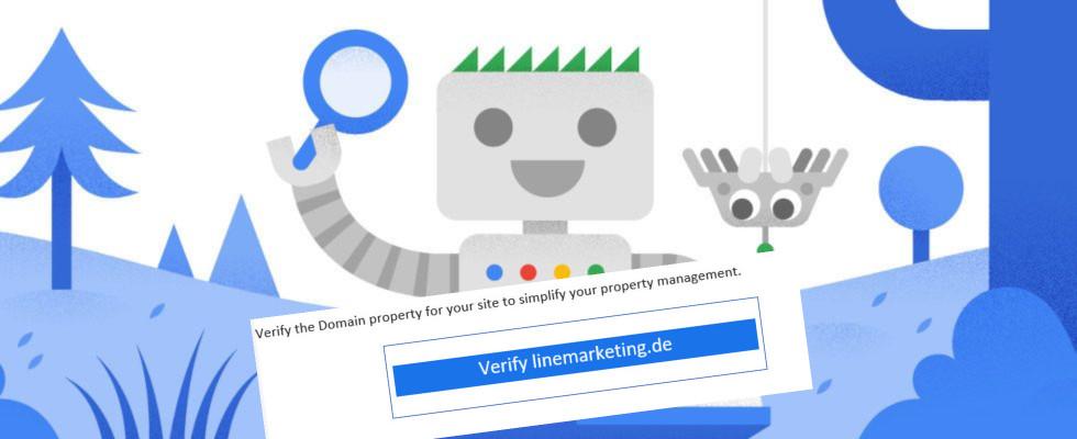 Google bestätigt URL-Fehler bei Mails zur Domain Verification in der Search Console