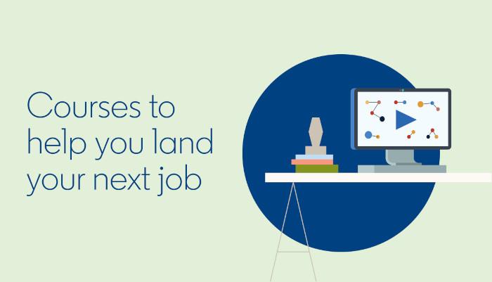 LinkedIn liefert Kurse, um einen Job zu ergattern