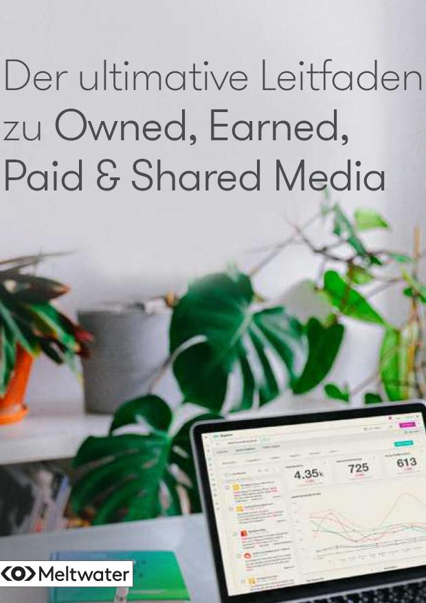 Der ultimative Leitfaden zu Owned, Earned, Paid & Shared Media