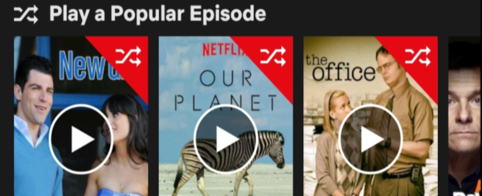 Play Something: Netflix will Shuffle Mode noch dieses Jahr einführen
