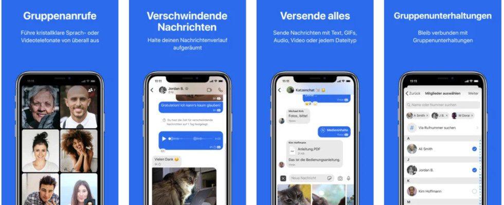 Neue Features für WhatsApp-Alternative Signal vor Roll-out