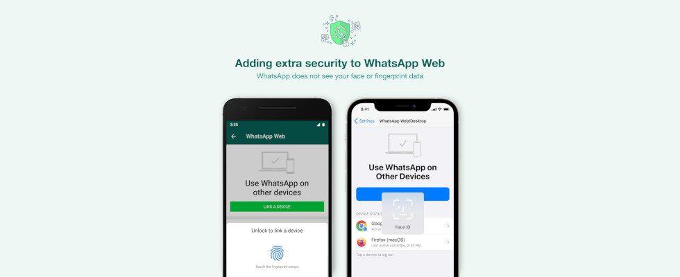 Biometrische Authentifizierung: Neues Security Feature für WhatsApp