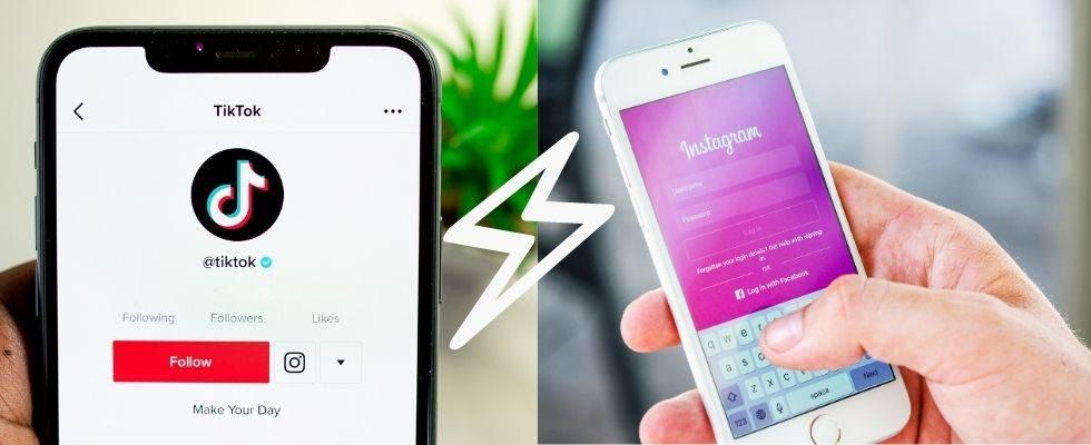 Instagram gegen TikTok: Können Reels der Erfolgs-App den Rang ablaufen?