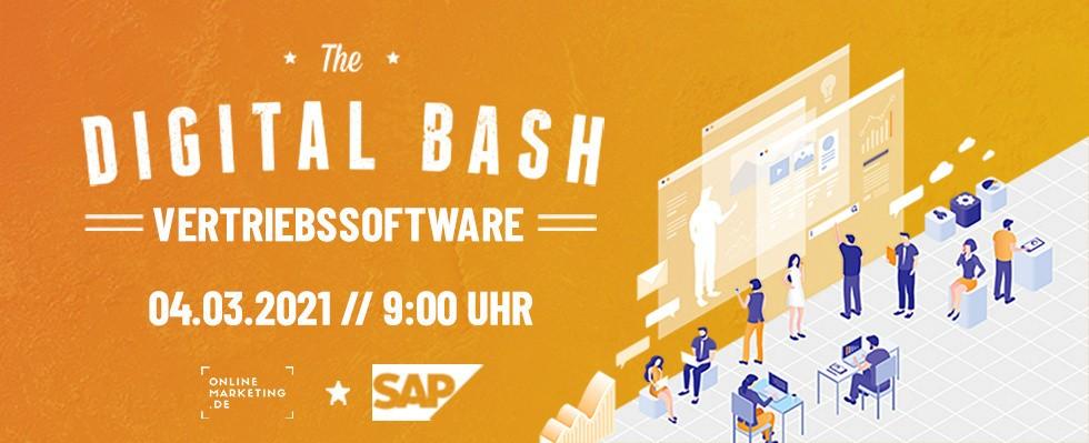 Verkaufspsychologie und neue Sales-Kanäle: The Digital Bash – Vertriebssoftware mit SAP