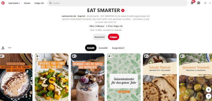 EAT SMARTER auf Pinterest