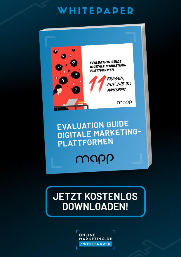 Evaluation Guide: Digitale Marketingplattformen