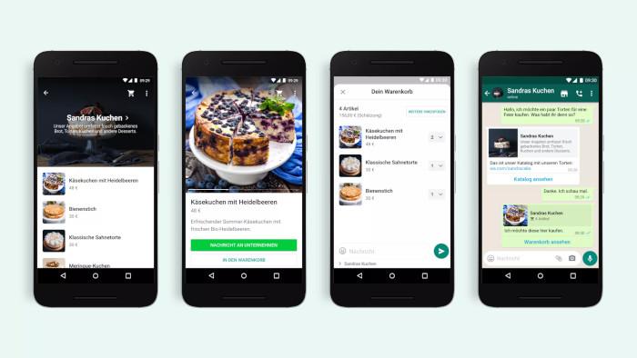 Shopping ist inzwischen auch bei WhatsApp angekommen, inklusive Customer Support, WhatsApp