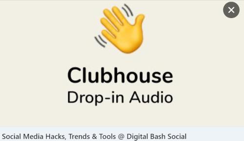 So sehen geteilte Clubhouse Links aus