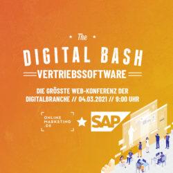 The Digital Bash – Vertriebssoftware mit SAP