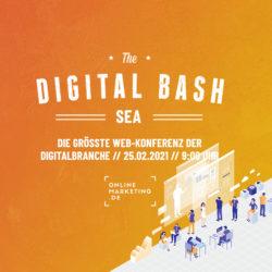 Tipps, Tricks und Tools bei The Digital Bash – SEA
