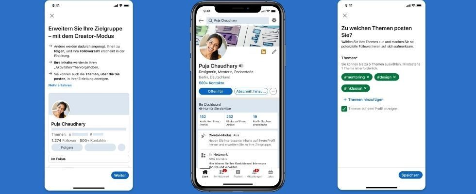 Cover Story, Creator Mode und neue Service Pages: LinkedIn launcht neue Features
