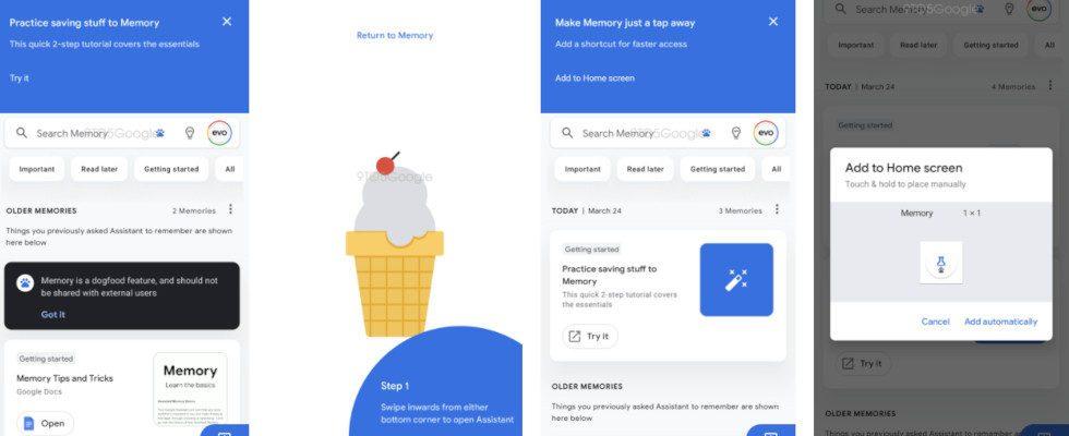 Google testet Memory Feed für den Assistant: Alles speichern, finden und organisieren