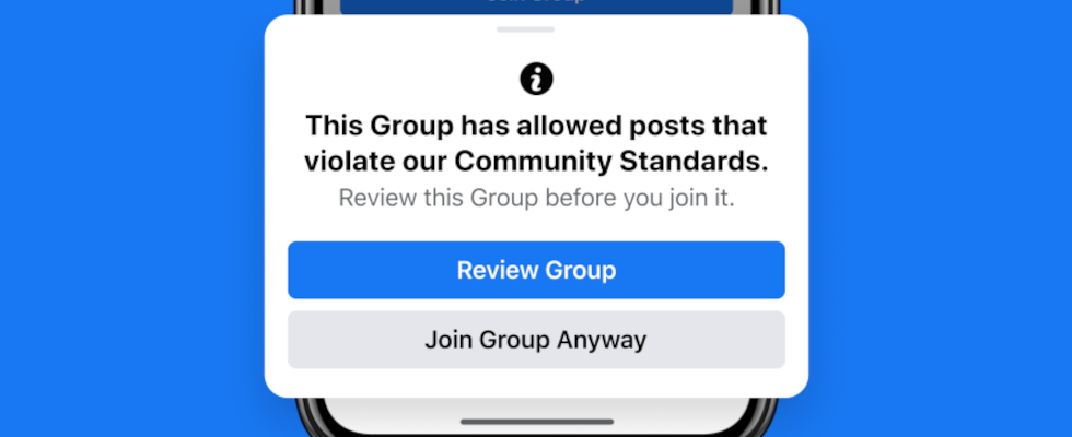 Facebook App Zeigt Benachrichtigung An