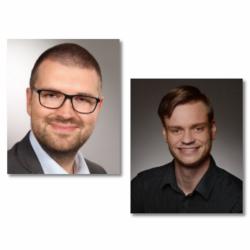 Nikolai Gerlach und Benjamin Pettke