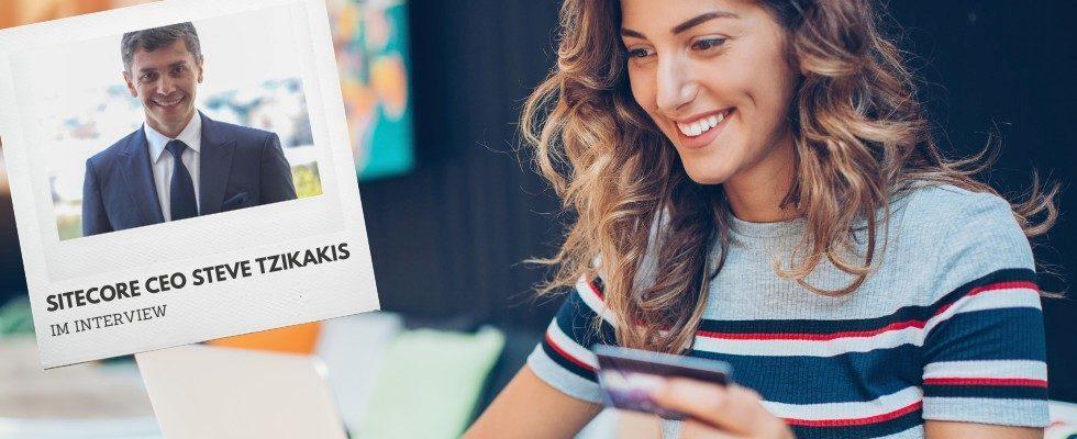 """""""Marken müssen überdenken, wie sie kontaktlosen Handel anbieten"""" – Sitecore CEO Steve Tzikakis im Interview"""