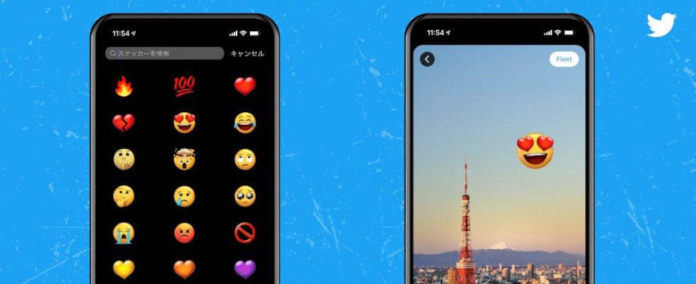 Twemojis und Sticker: Twitter führt erste Visual Tools für Fleets ein