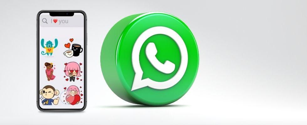 WhatsApp: Du kannst jetzt mit Text und Emojis nach Stickern suchen