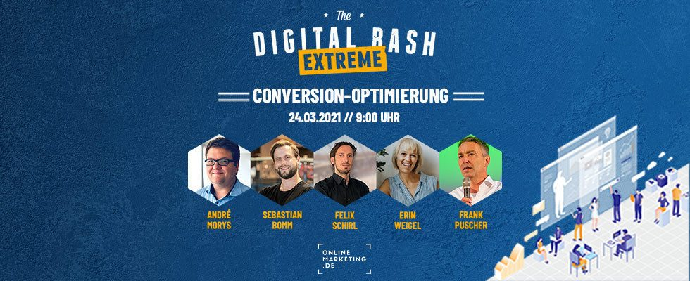 The Digital Bash EXTREME – Conversion-Optimierung