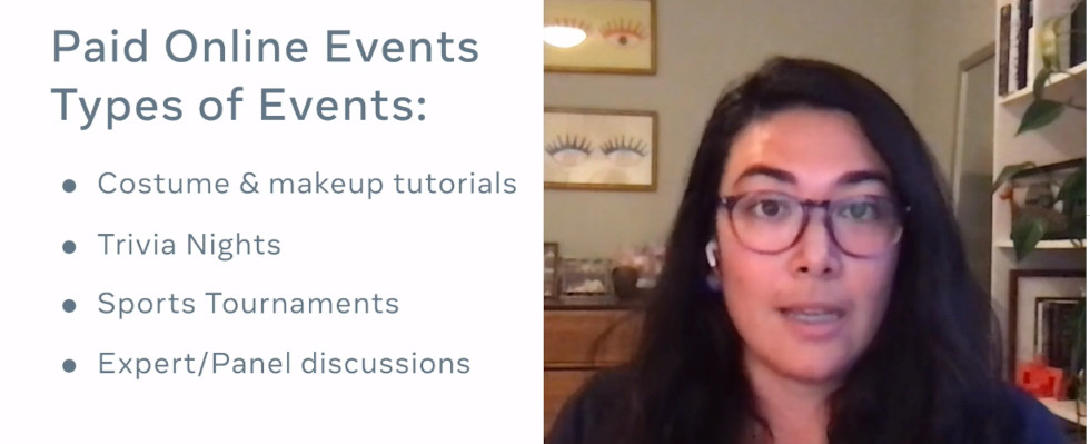 Tipps von Facebook: So funktionieren Paid Online Events
