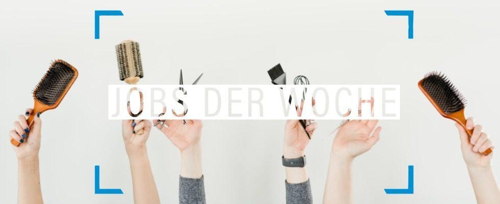 Neuer Haarschnitt, neuer Lebensabschnitt, neuer Karriereschritt – mit unseren Jobs der Woche