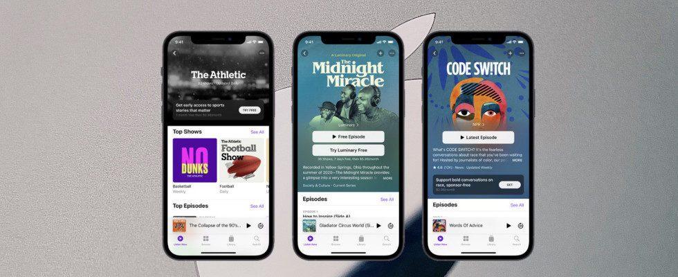 Neues Monetarisierungs-Feature: Apple führt Subscription-Modell für Podcasts ein