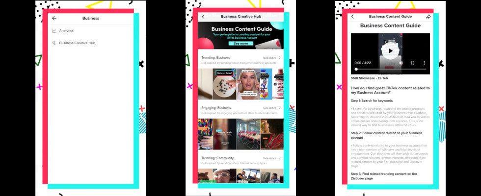 Business Creative Hub: TikTok launcht neues Trend Tool für Unternehmen