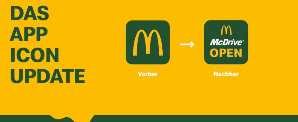 Marketing per App Icon: McDonald's erreicht 95 Prozent mehr mobile Bestellungen