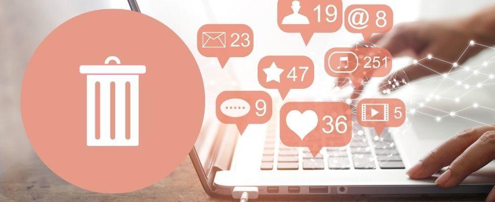 13.000 Suchanfragen monatlich: Wie lösche ich meinen Social Media Account?