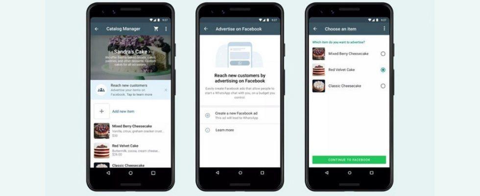 WhatsApp Business: Ads direkt über die App schalten