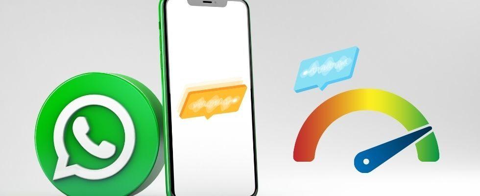 WhatsApp: Kontrolle der Wiedergabegeschwindigkeit von Sprachnachrichten getestet