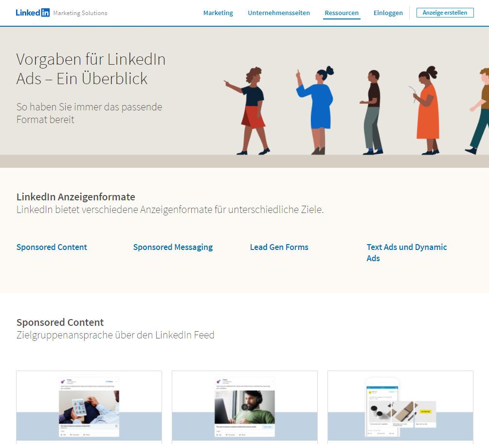 Der neue LinkedIn Ad Guide
