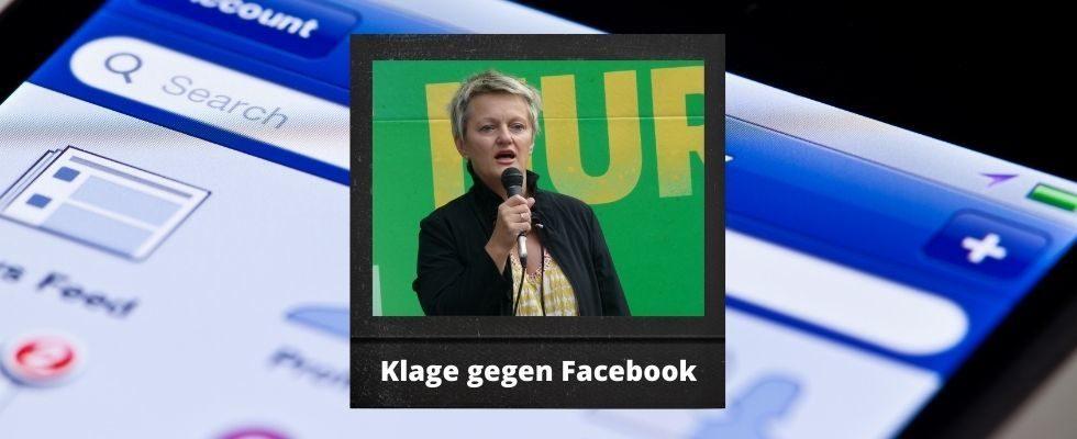 Renate Künast fordert Schmerzensgeld von Facebook und hofft auf Grundsatzurteil