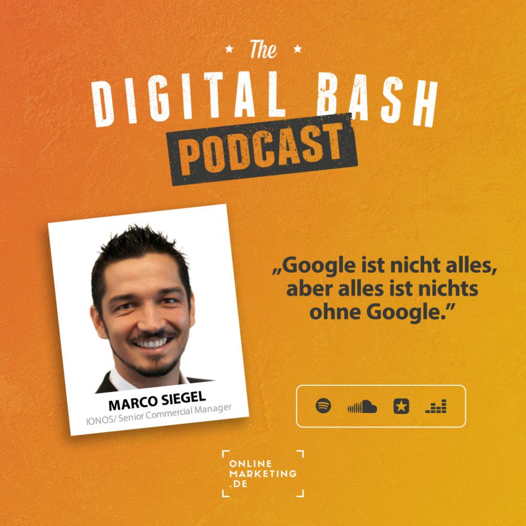 Marco Siegel Podcast