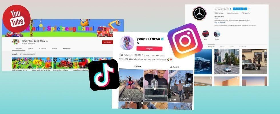 Studie: Diese Social Media Accounts wuchsen im ersten Quartal 2021 am stärksten