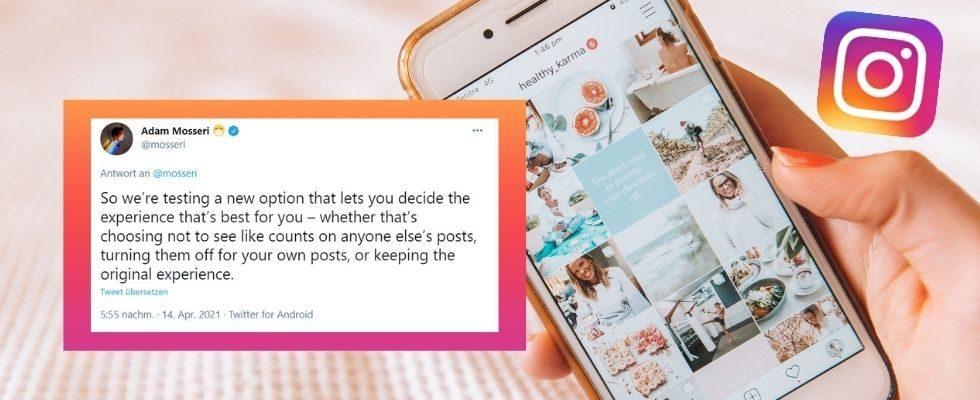 Test bestätigt: User können die Anzahl der Likes auf Instagram verschwinden lassen