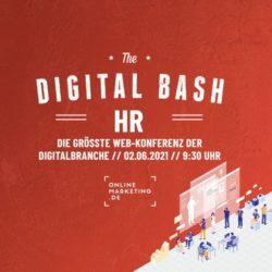 Dein Update fürs Digital Recruiting: Digital Bash – HR 2021