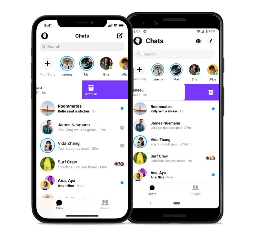Das Archived Chats Feature beim Facebook Messenger
