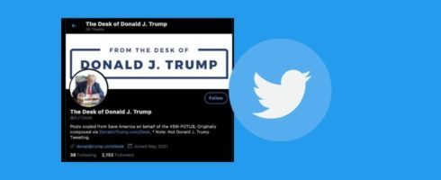 """Twitter: Trump """"erneut"""" gesperrt"""
