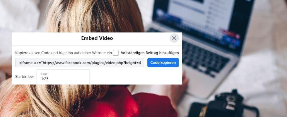 How-to: Facebook-Video mit Zeitstempel teilen