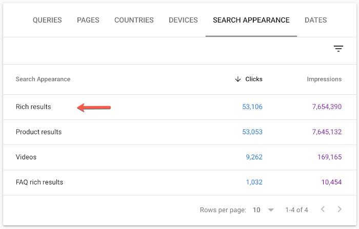 Die Oberkategorie Rich Results wird es künftig in der Search Console nicht mehr geben