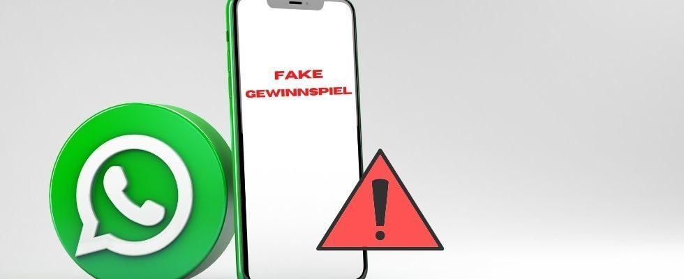 Phishing-Nachricht auf WhatsApp: Fake-Gewinnspiel sammelt User-Daten